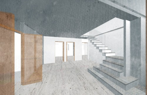 3d visualisation of stair design