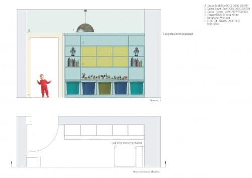 Children's Play Room Elevation B copy