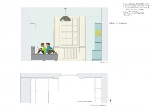 Children's Play Room Elevation D copy