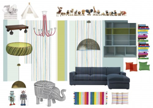 Children's Play Room Visual Mood Board copy copy