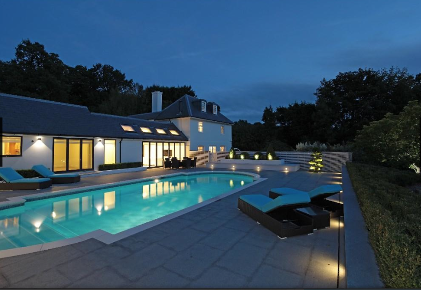 Image for Georgian House In Buxted With Contemporary Pool – Final Images