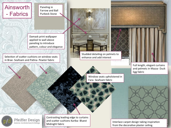 Ainsworth Room Fabrics