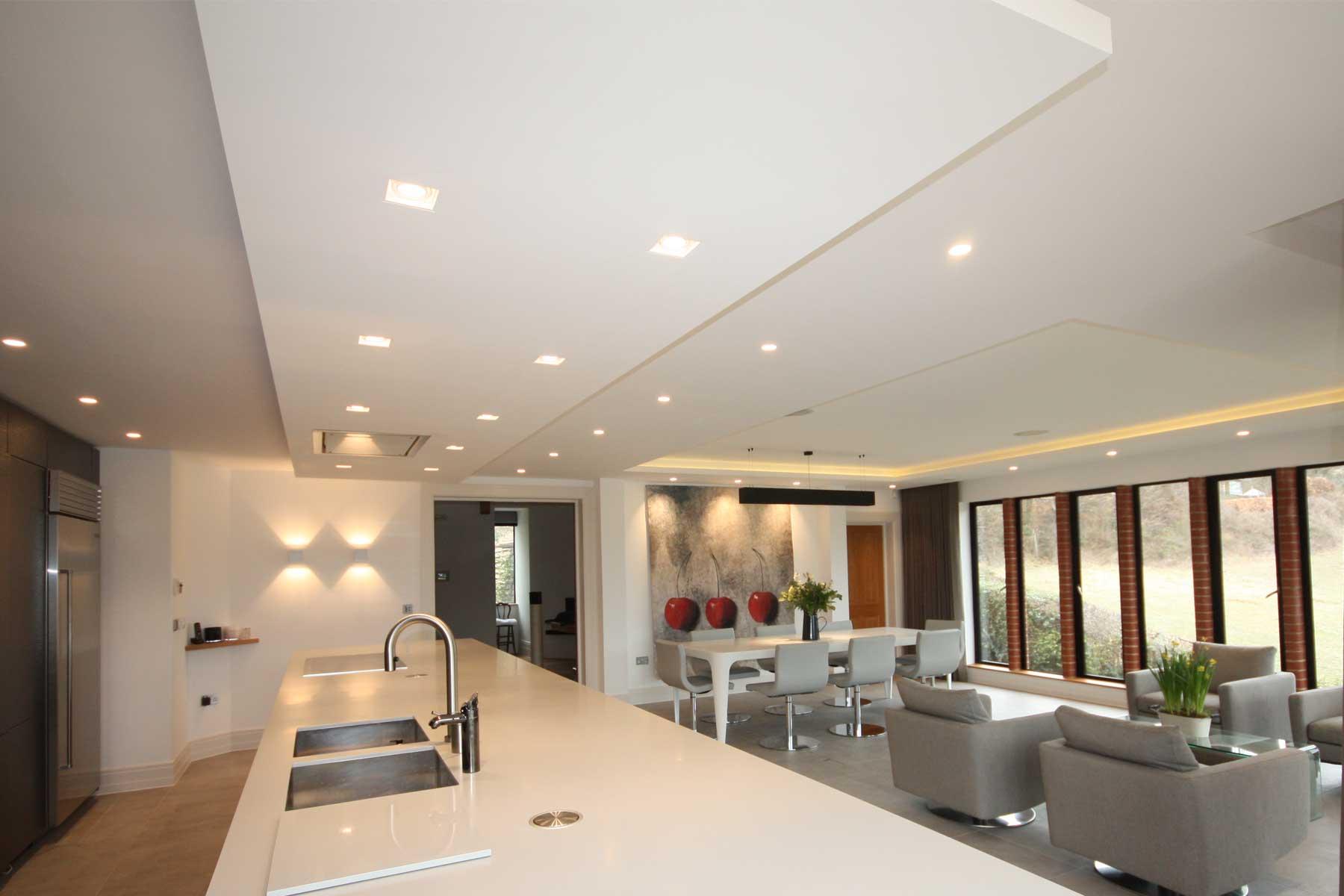 Commercial residential lighting design london sussex kent