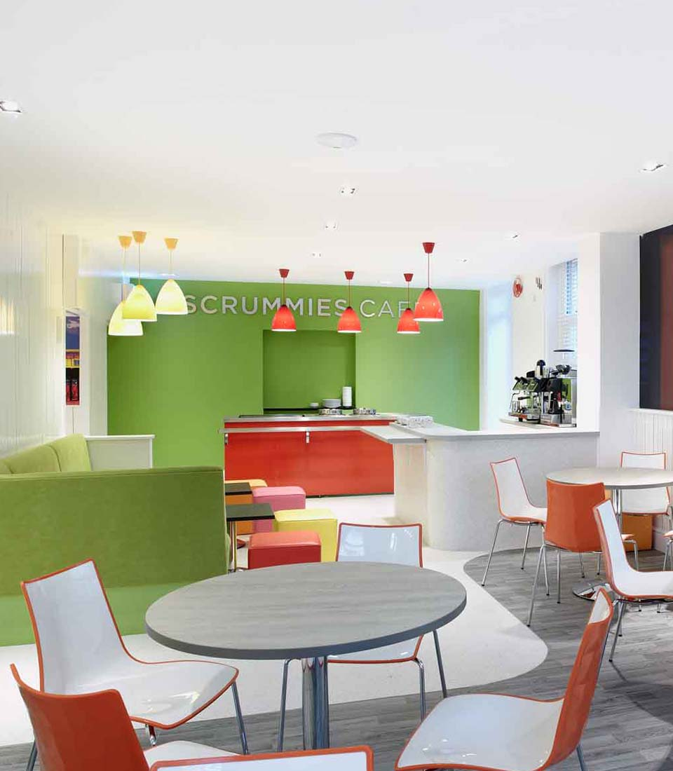 Linking interior design to brand identity