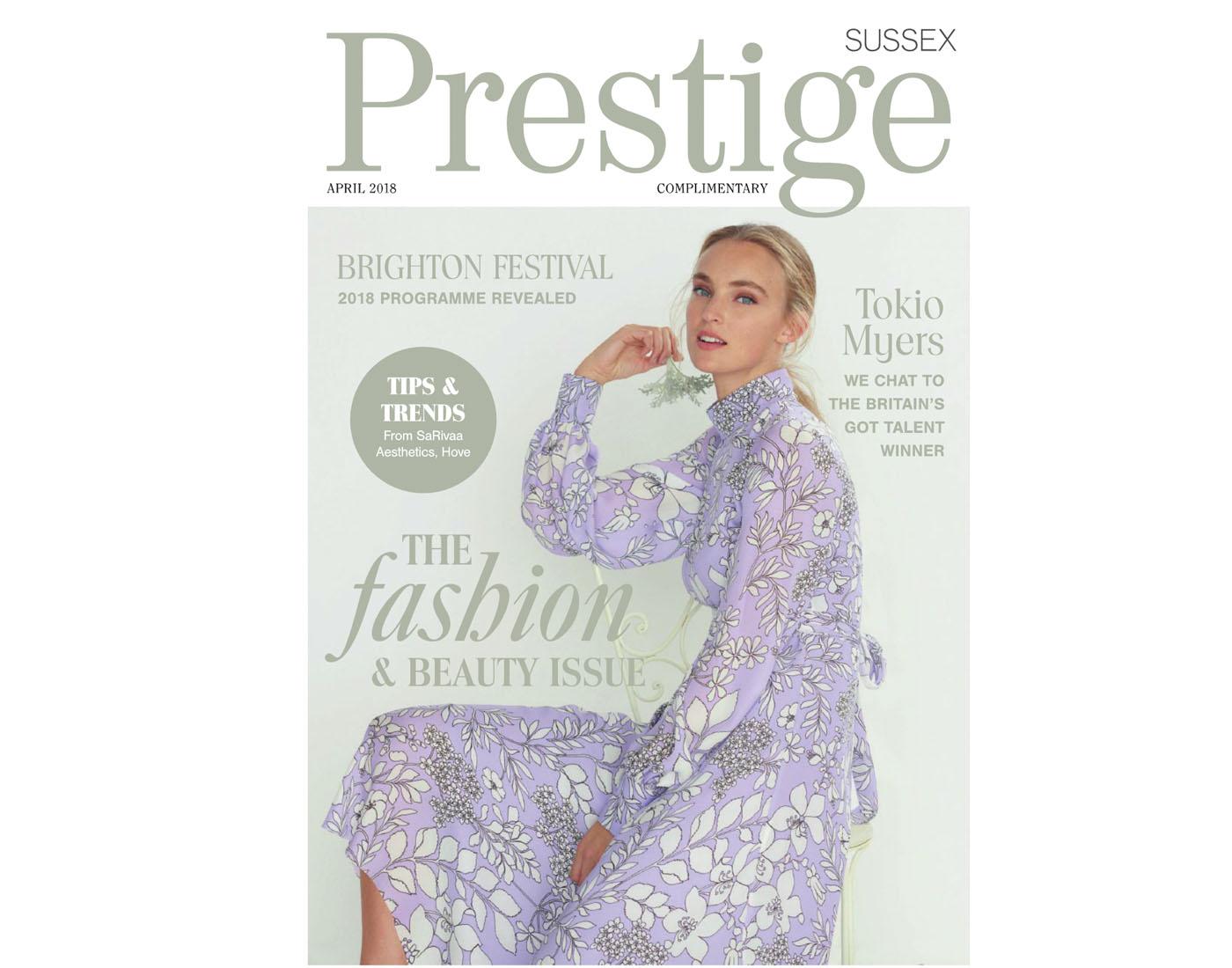 Image for We're featured Interior Designers in Prestige Magazine!
