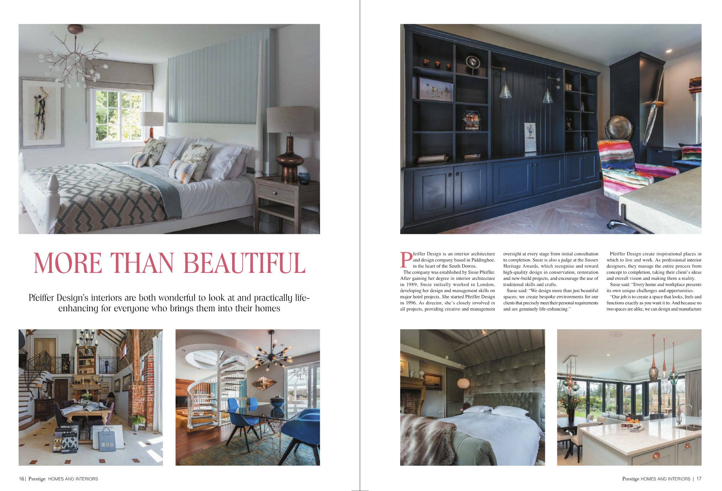 Image for We're featured Interior Designers in Prestige Magazine!