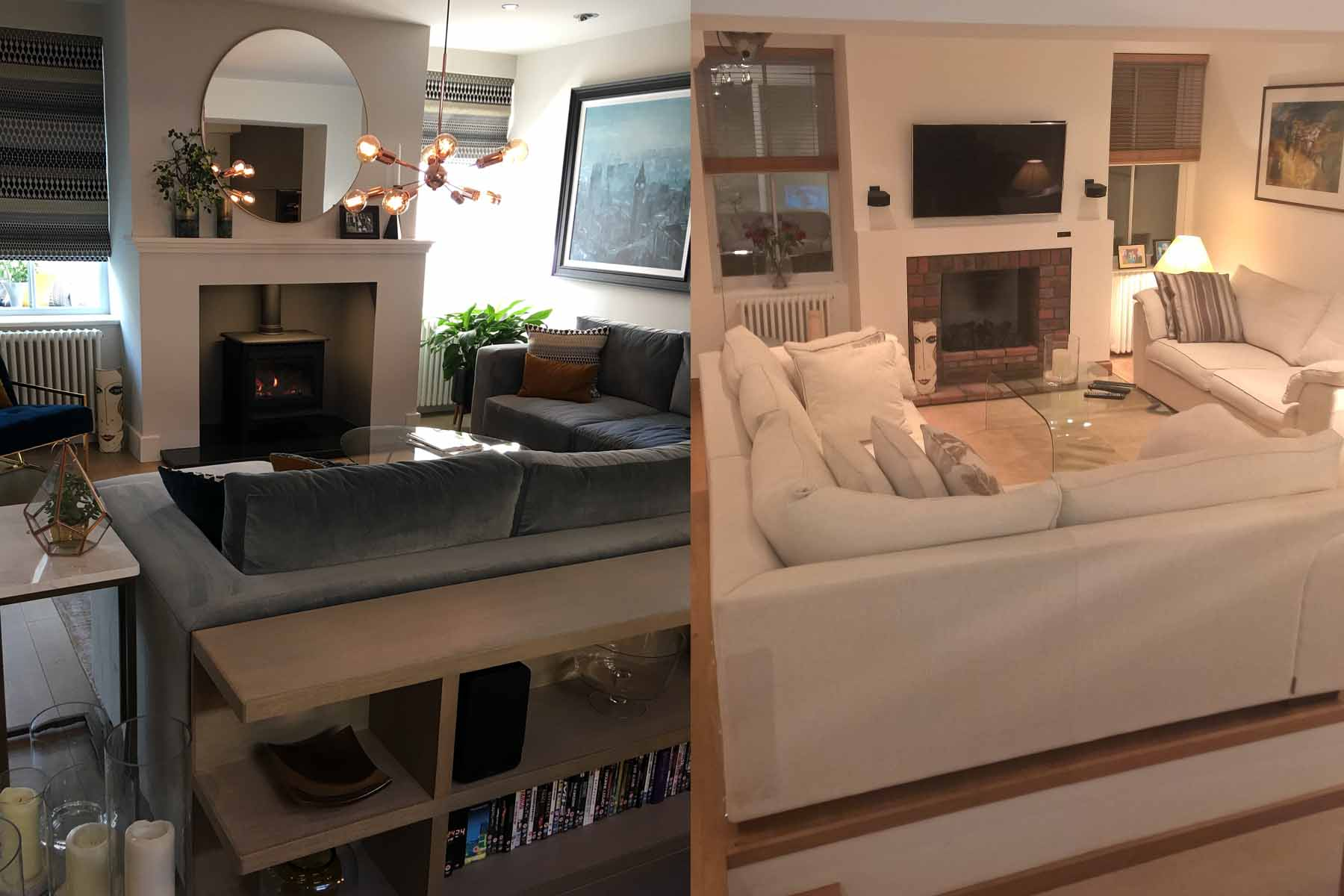 Image for 5 of our best before and after residential interior designs