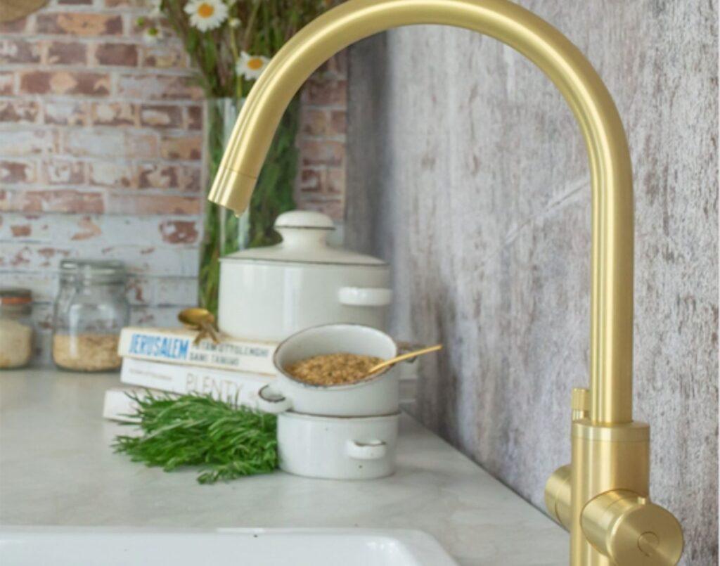 brass boiling water tap