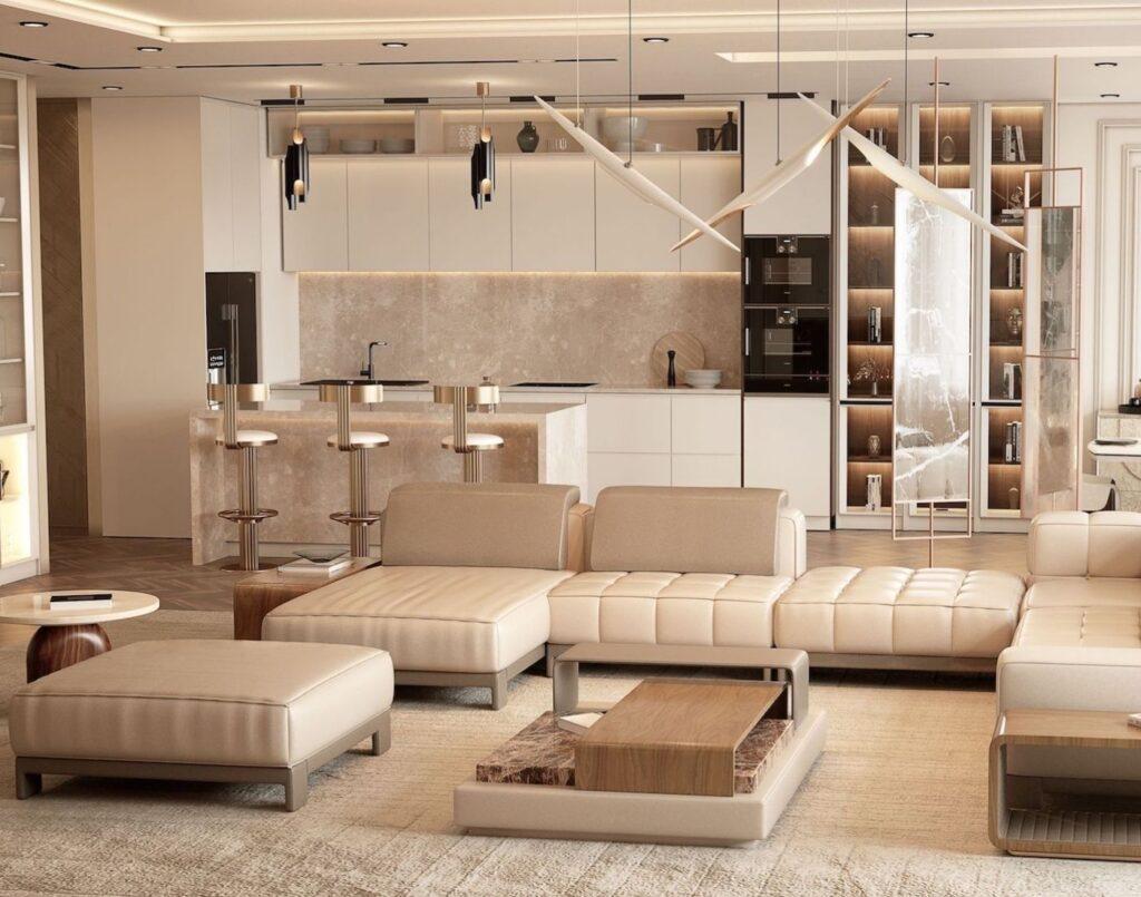 Kitchen living room trend