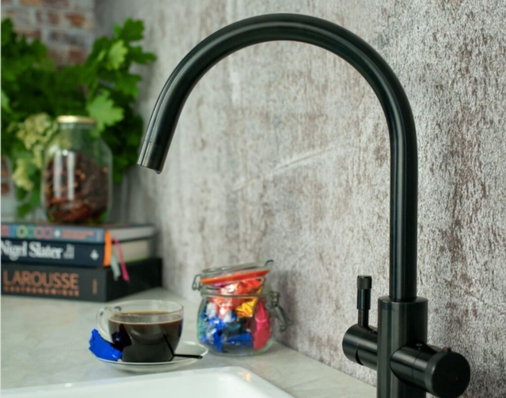 Kitchen tech trends boiling water tap