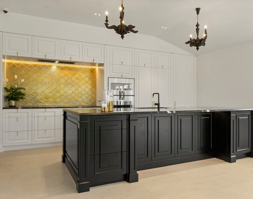 metallic surfaces kitchen trends for 2021